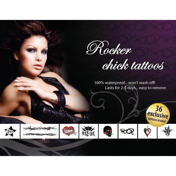 Tattoo Set  – Rocker Chick