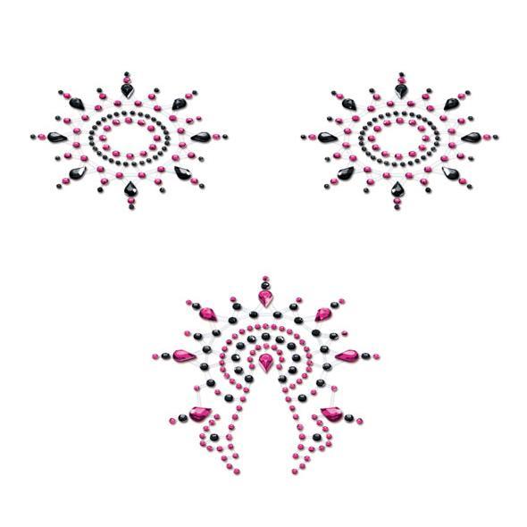 Petits Joujoux – Gloria Set Black & Pink