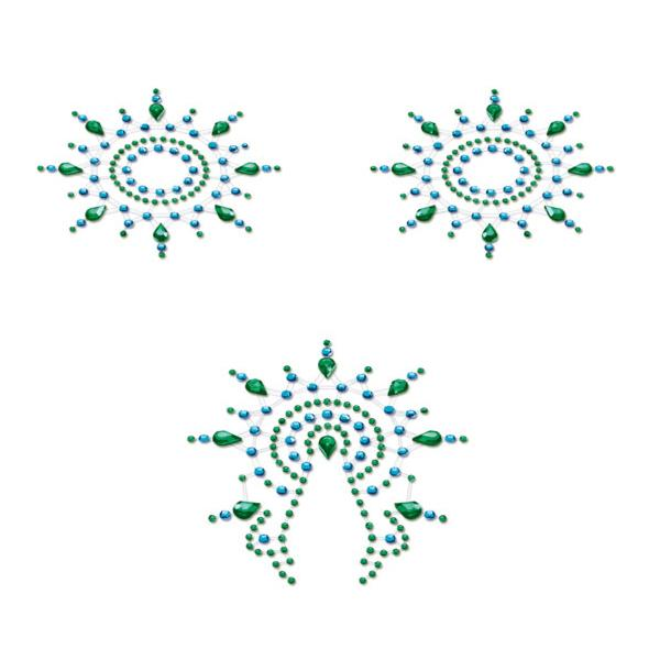 Petits Joujoux – Gloria Set Turquoise & Green
