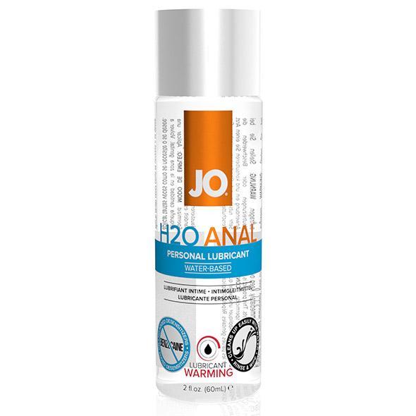 System JO – Anal H2O Lubricant Warming 60 ml