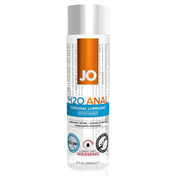 System JO – Anal H2O Lubricant Warming 120 ml