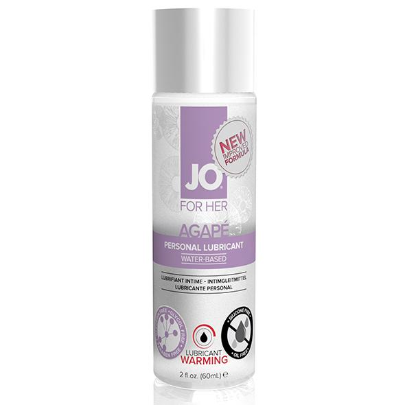 System JO – For Her Agape Lubricant Warming 60 ml
