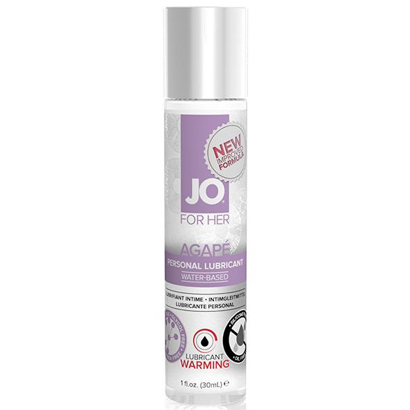 System JO – For Her Agape Lubricant Warming 30 ml