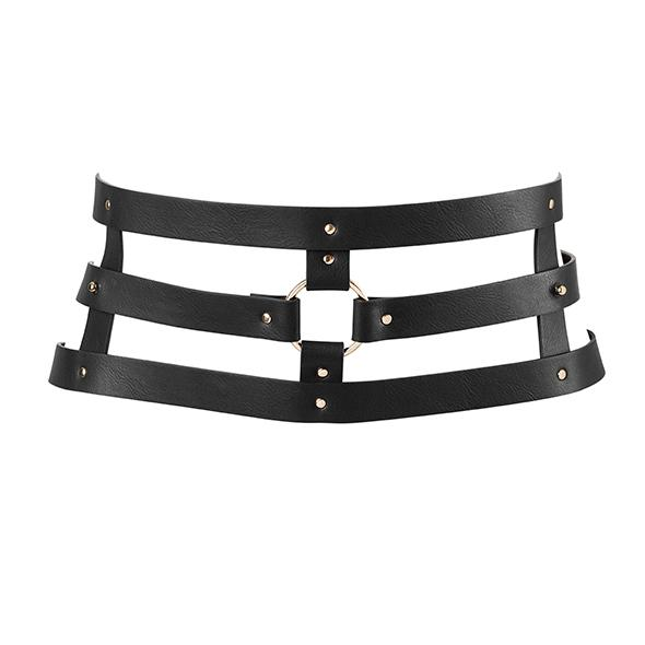 Bijoux Indiscrets – Maze Wide Belt Black