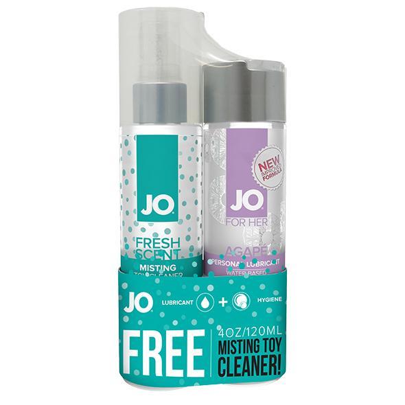 System JO – Agape & Misting Toy Cleaner