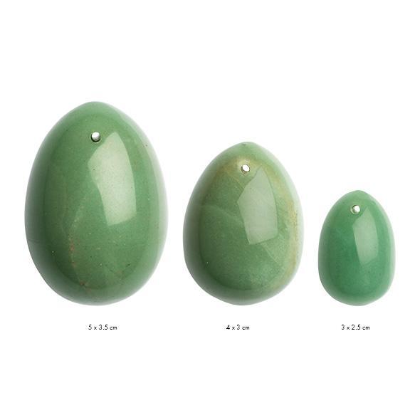 La Gemmes – Yoni Egg Set Jade (L-M-S)