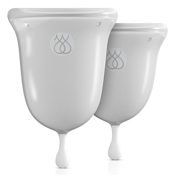Jimmyjane – Intimate Care Menstrual Cups Clear