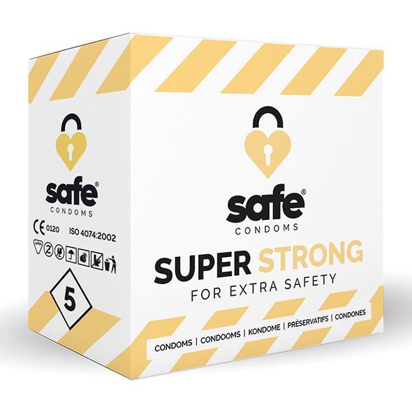 Safe – Super Strong Condoms 5 pcs