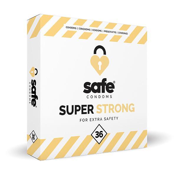 Safe – Super Strong Condoms 36 pcs