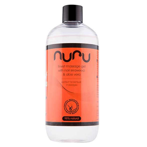 Nuru – Massage Gel with Nori Seaweed & Aloe Vera 500 ml