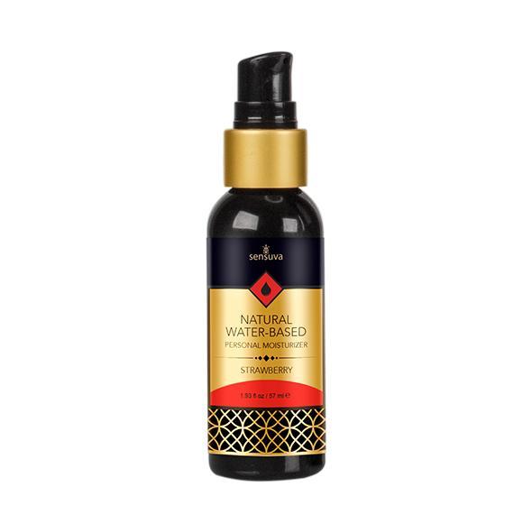 Sensuva – Natural Water-Based Personal Moisturizer Strawberry 57 ml