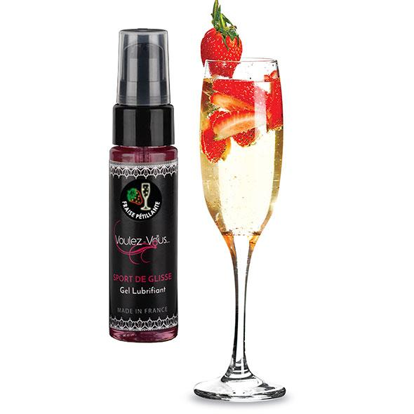Voulez-Vous… – Water Based Lubricant Strawberry Champagne 35 ml