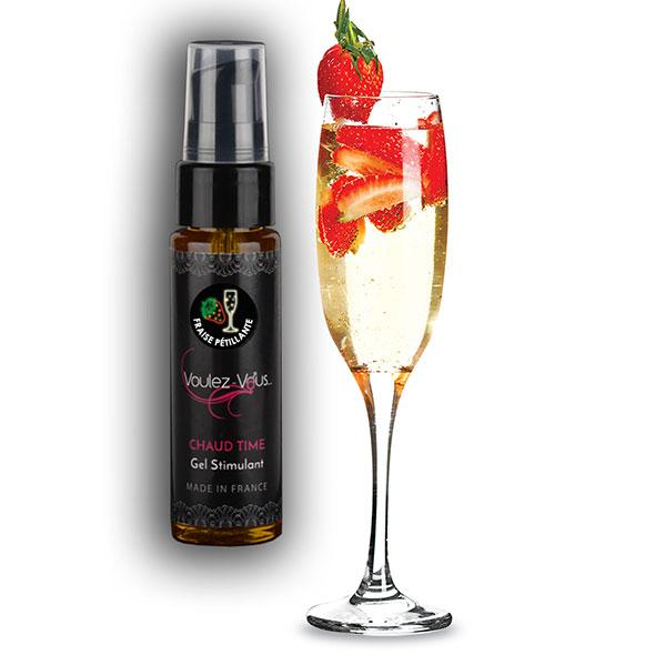 Voulez-Vous… – Stimulating Gel Strawberry Champagne 35 ml